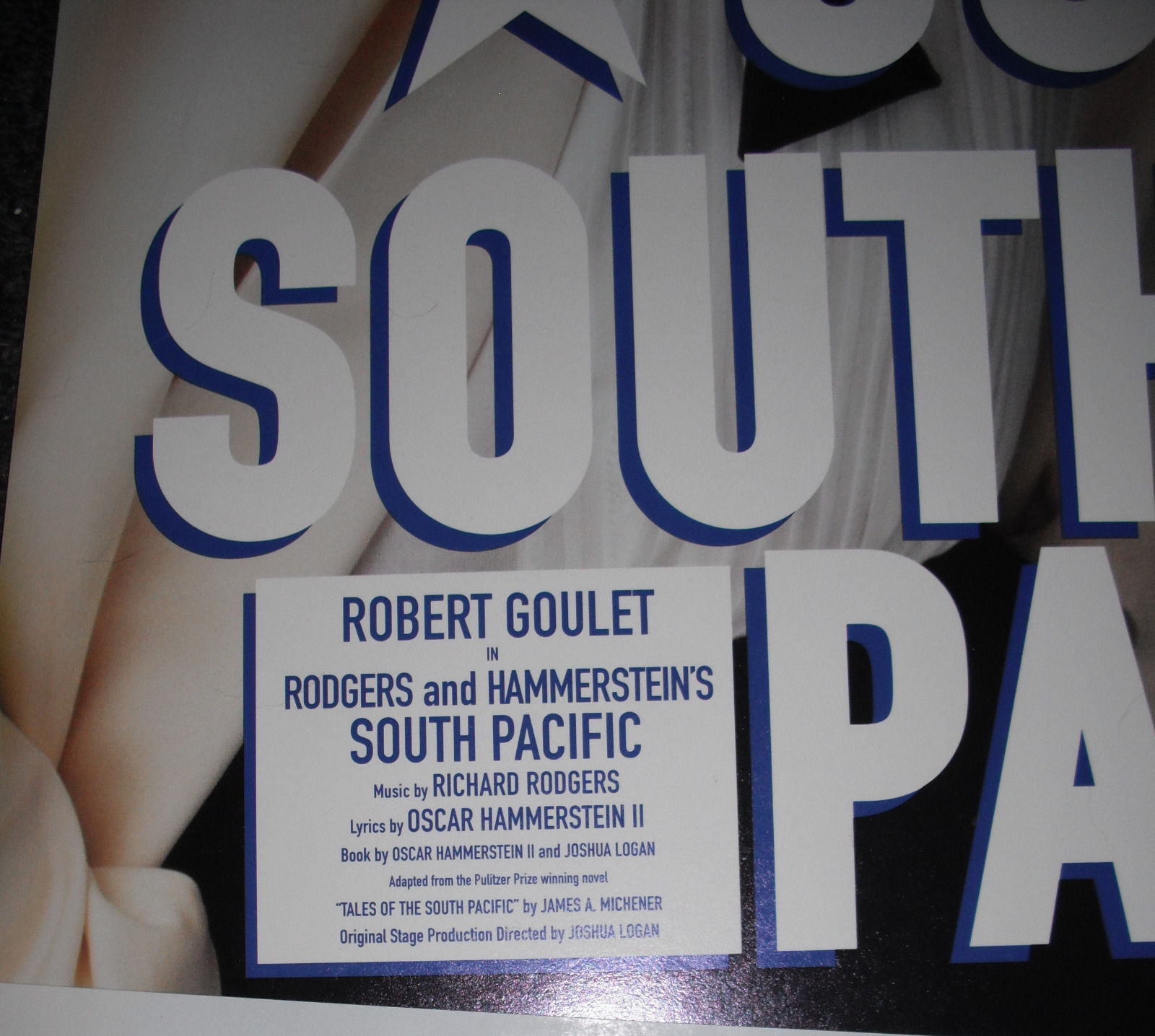 ROBERT GOULET IN SOUTH PACIFIC POSTER - SF 2002