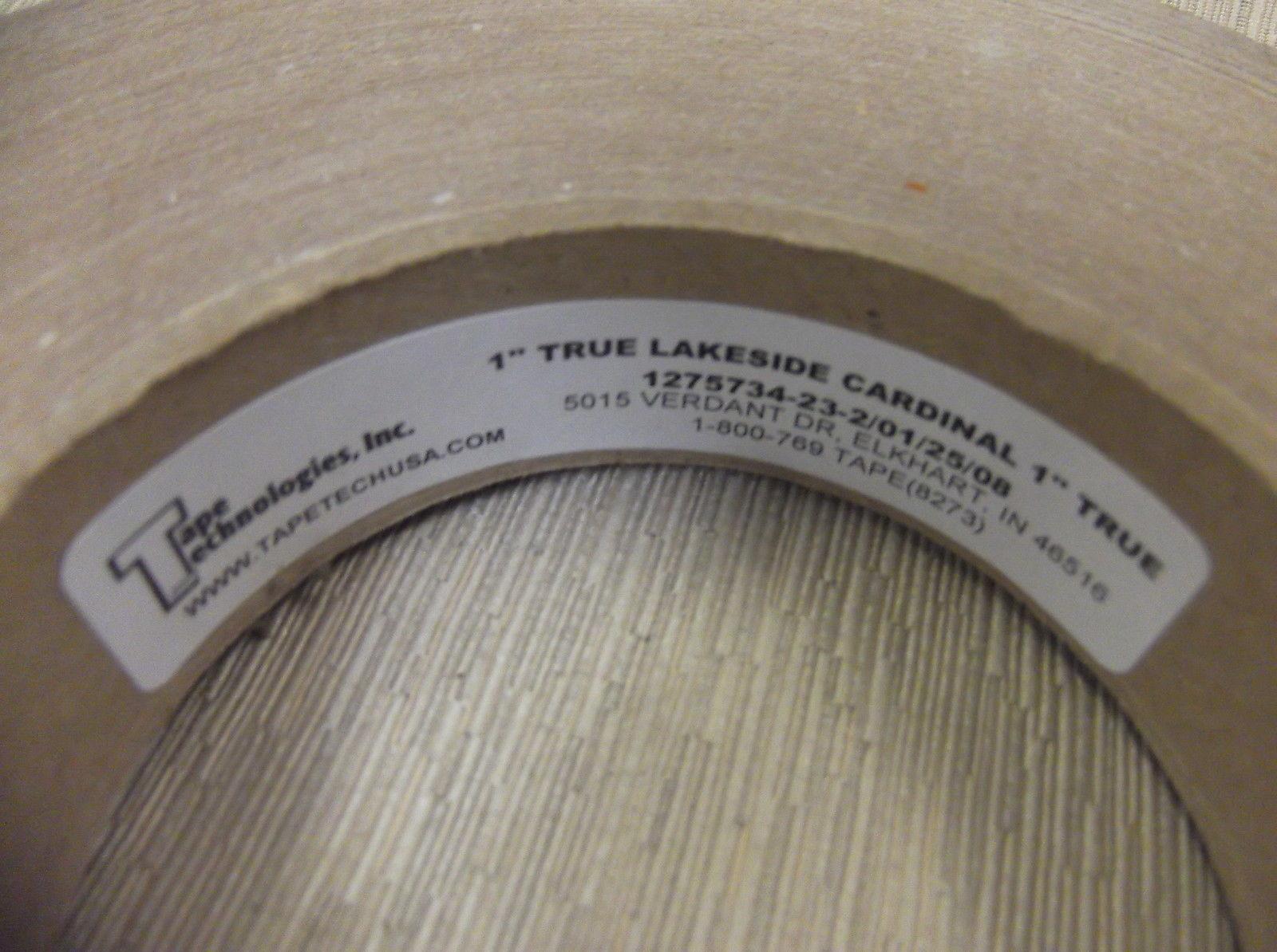 "Tape Technologies Lakeside Cardinal Seam Tape 1"" X 150' #127573423 UPC:710534472"