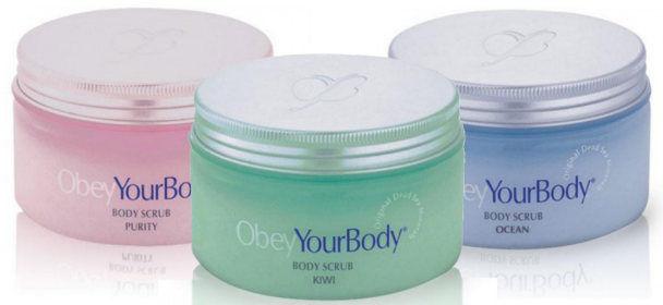 Obey Your Body Premier Exfoliate Body Scrub Dead Sea SALT ...