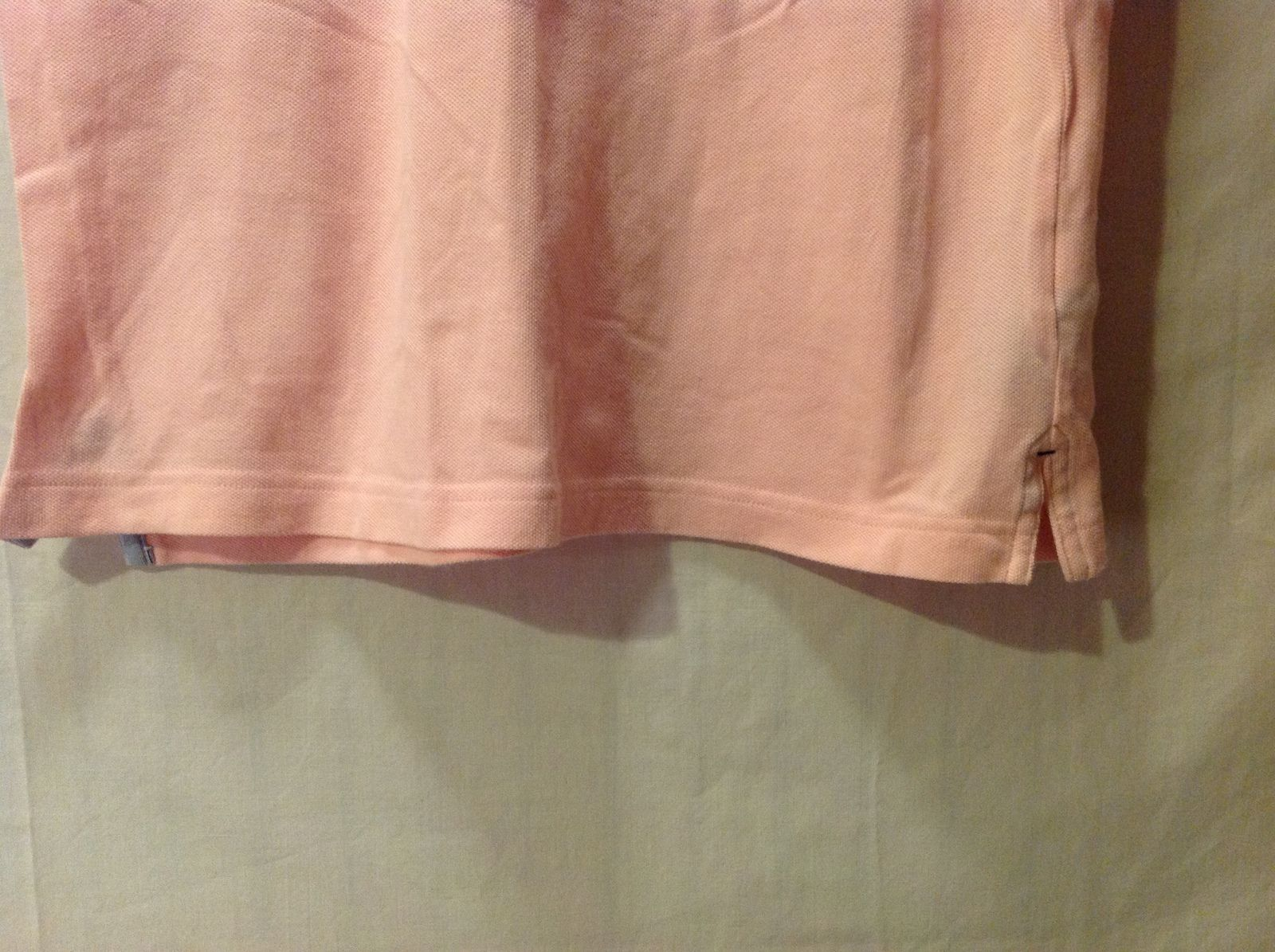 Tommy Hilfiger Mens Pink Polo Size Small
