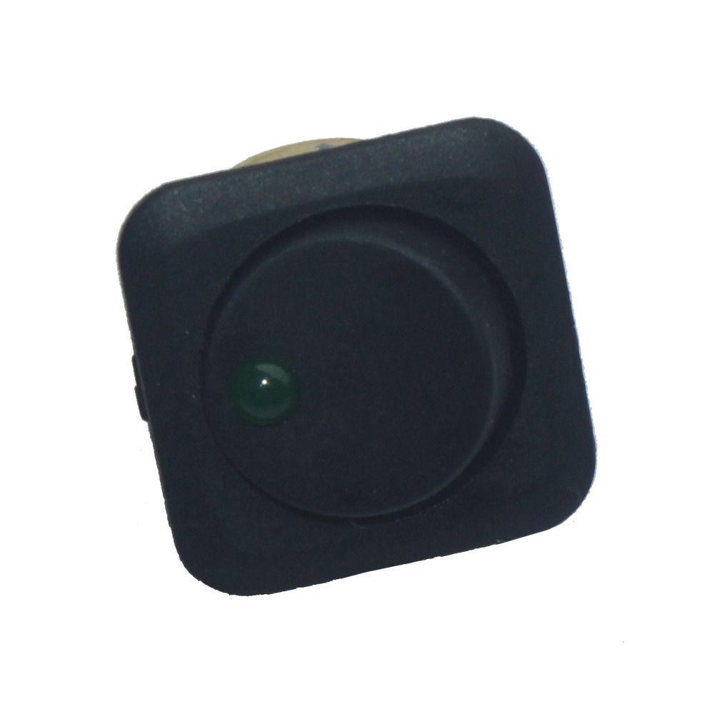 5 X 25mm Car Boat Round Green LED Light Rocker Toggle Switch 12V 25A Board Sales