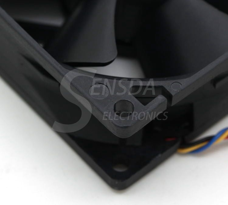 Delta AUC0812D 8cm 80mm 12V 0.7A 4-pin pwm For Dell P/N TJ5T2-A00 server fan