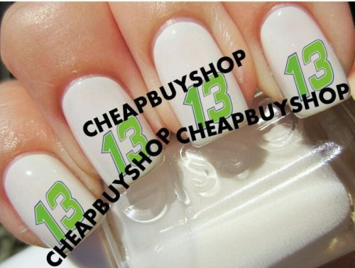 Top Quality》NASCAR RACE DRIVER》CASEY MEARS #13》Tattoo Nail Art Decals《NON-TOXIC