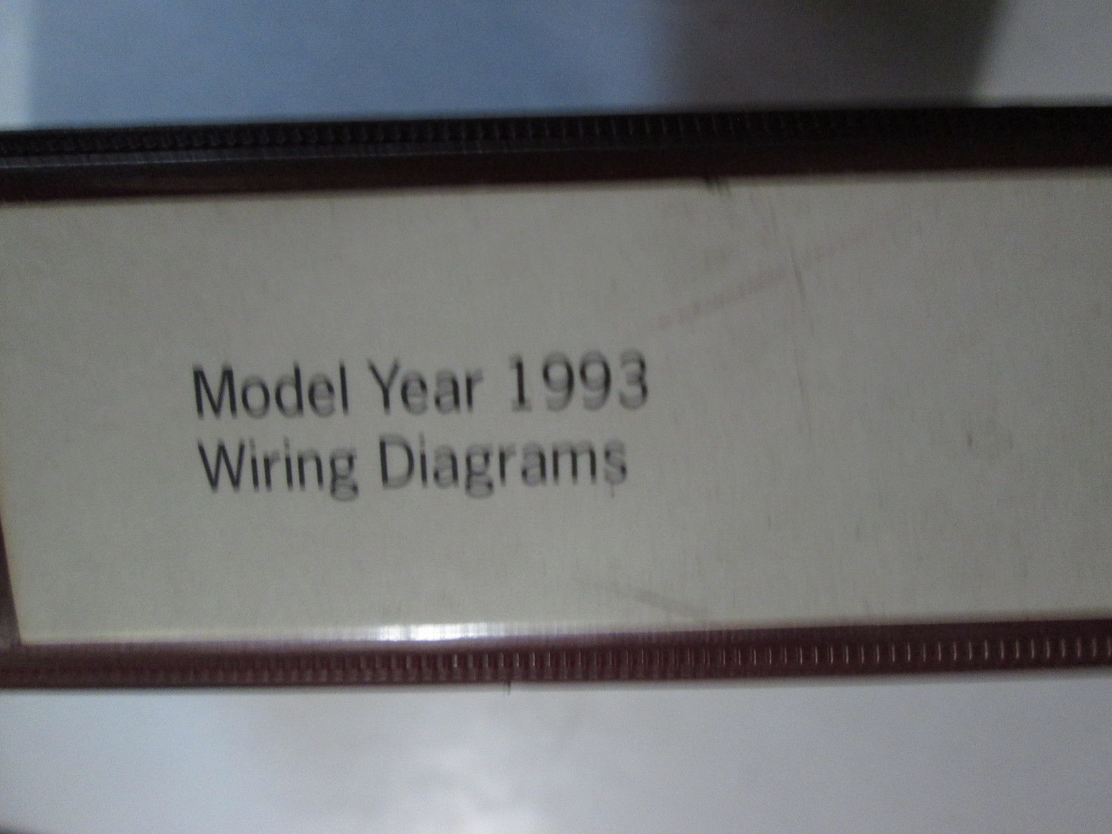 1993 PORSCHE 911 CARRERA 4 2 968 928 Wiring Diagram Manual Factory OEM Book Used