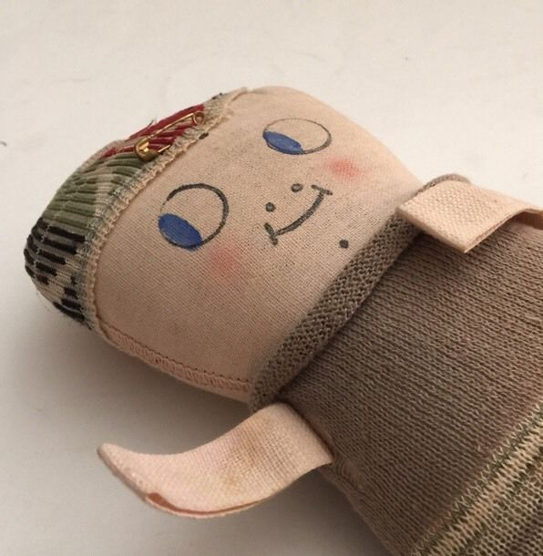 ORIGINAL PRETTY  UGLY DOLL HAND MADE OOAK