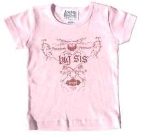 """T-Shirts New Authentic Big Sis """"Cherish & Protect"""" Toddler T-Shirt Size 2"""
