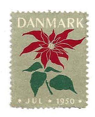 1950 Denmark Julen Christmas Seal