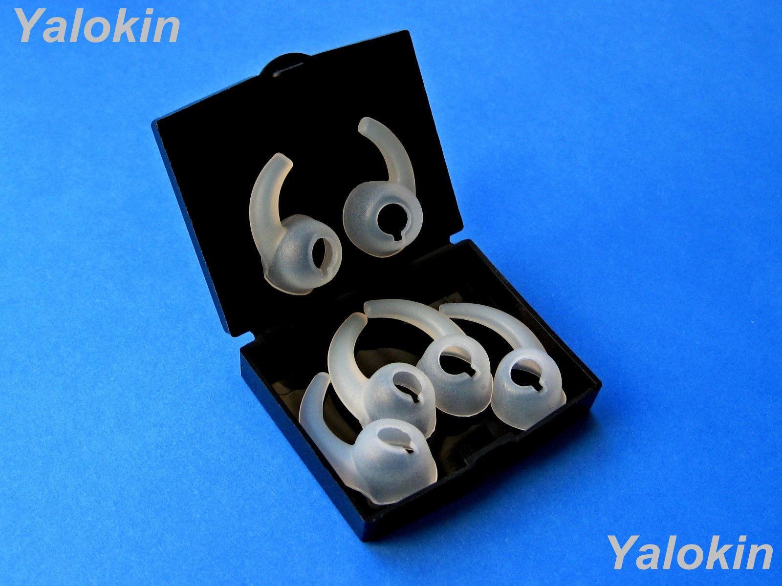 6pcs: 3 Pairs S/M/L (L+R) Ear Stabilizers Secure Wing tips for Tour 2 Earphones