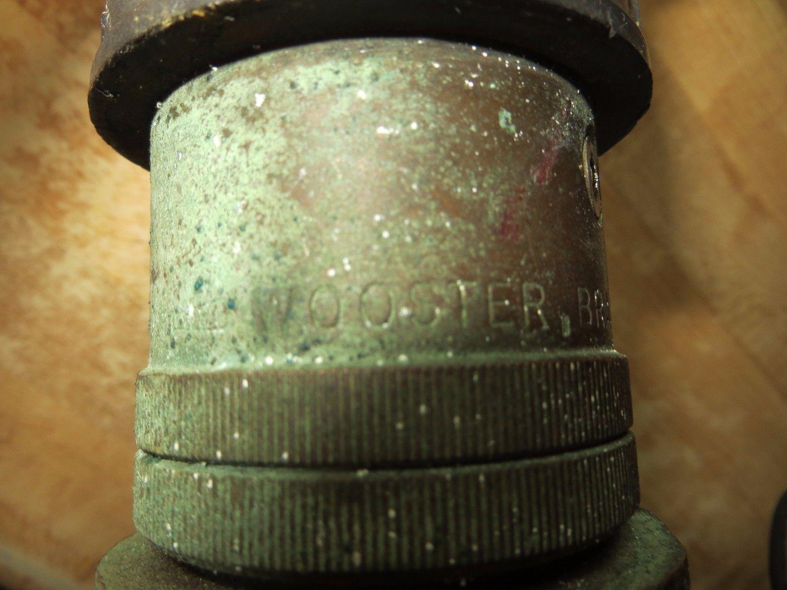 Wooster Brassworks nif-cf-15  fire dept.water sprayer nozzle firefighting