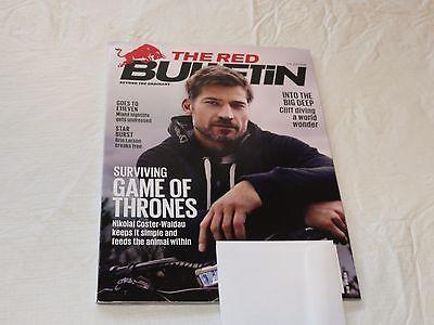 Game of Thrones Nikolaj Coster Waldau RARE The Red Bulletin US edition magazine