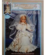 Fibre Craft Annual Bride Crochet Pattern Leaflet FCM410 1995 Edition - $5.95