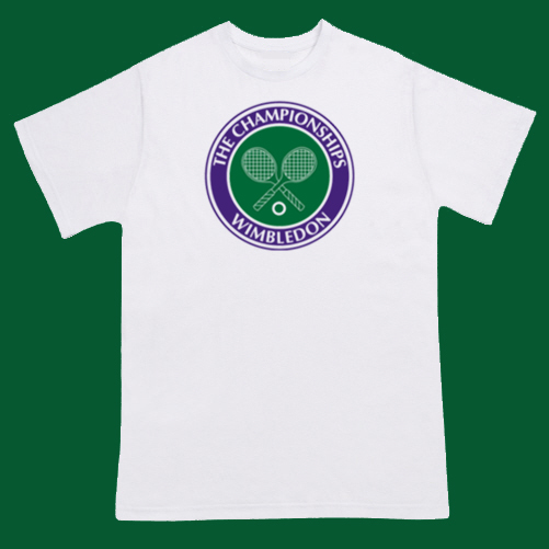 WIMBLEDON Championships Tennis Tournament T-shirt