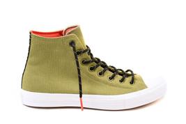 Converse Unisex CTAS II HI 153535C Sneakers Green Size US 9 RRP $157 - $79.00