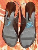 """swarovski crystal wedding shoes 4"""" open toe sling back bridal shoes sandal bling image 4"""