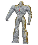 Transformers Age of Extinction Optimus Prime Silver Knight Damaged Torn ... - $8.82