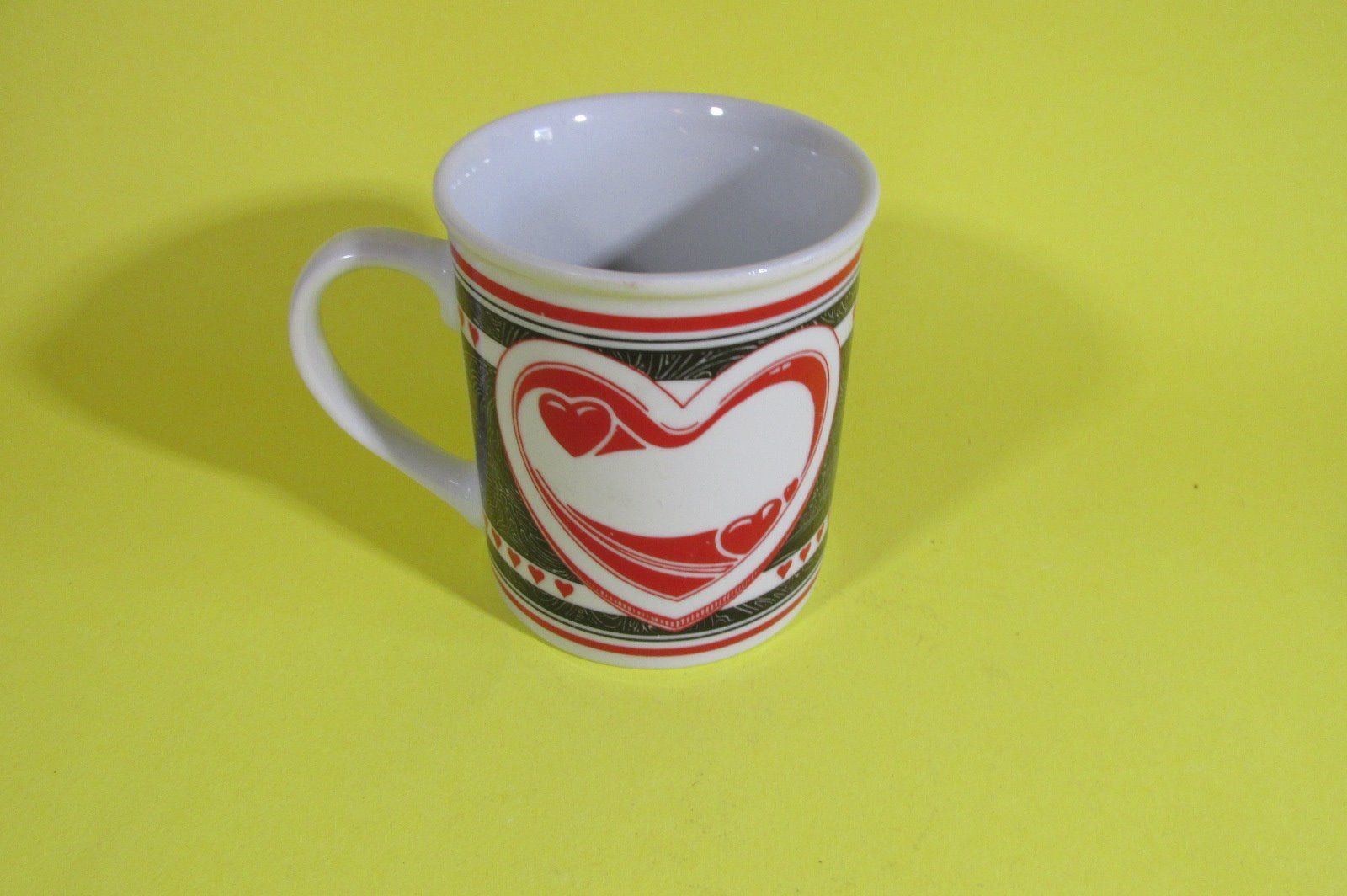 Red and Black Hearts by Westwood Coffee Mug, 1995