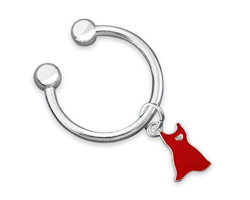 Red Dress Awareness Key Chain (Retail) [Office Product]