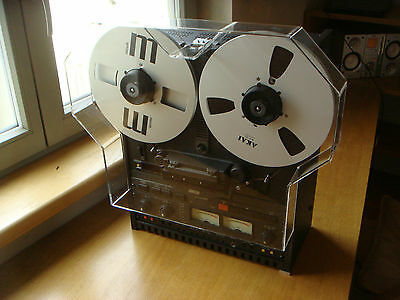 NEW Grey Dust Cover with Reel Extensions for Otari Tape Recorder MX Series