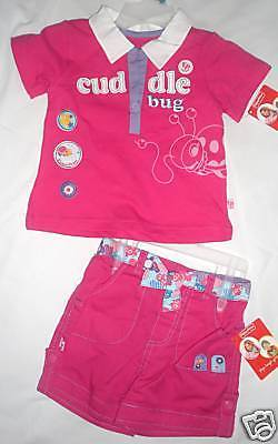 Fisher-Price Infant Girls 2 PIECE Outfit  Size  12M NWT