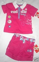 Fisher-Price Infant Girls 2 PIECE Outfit  Size  12M NWT - $15.51