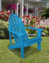 Catalina Cedar Adirondack Chair Shine Company 6 Colors Patio Deck - $155.77