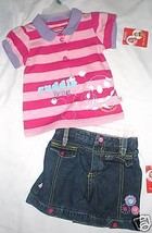 Fisher-Price Infant Girls 2 Piece Outfit  Size - 12 MONTHS NWT - $10.08