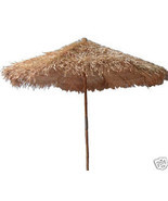 Bamboo Tiki Thatch Umbrella 9ft Palapa Patio Deck - ₨19,620.04 INR