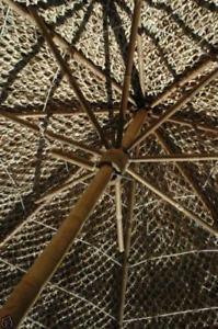 Bamboo Tiki Thatch Palapa Patio Deck Umbrella 5 ft  Warehouse Direct Free Ship