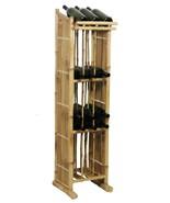Bamboo Tiki 4 Shelf Patio Deck Indoor or Outdoor Standing Wine / Storage... - $117.55