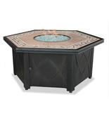 "Uniflame LP Fire Pit 55"" Hexagon Outdoor Patio Deck 30,000 btu Propane F... - $785.00"