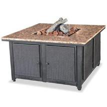 "Uniflame 41"" Granite Top Patio Deck 40,000 btu lp Propane Fire Pit Free ... - $808.45"