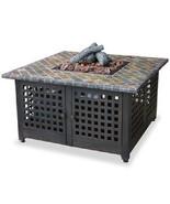 "Uniflame 41"" Slate Mosaic Outdoor 40,000 btu lp Propane Patio Deck Fire Pit - $636.95"