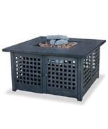 "Uniflame 41"" Dark Tile Outdoor 40,000 btu lp Propane Patio Deck Fire Pit - $597.75"
