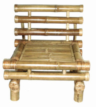 Bamboo Tiki Payang Patio Deck Chair with Cushion Factory Direct - $195.95