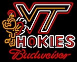 Budweiser virginia tech vt neon sign 20  x 20  thumb155 crop