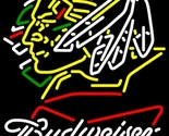 Budweiser bowtie north dakota fighting sioux neon sign 20  x 20  thumb155 crop