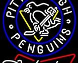Budweiser bowtie pittsburgh penguins neon sign 16  x 16  thumb155 crop