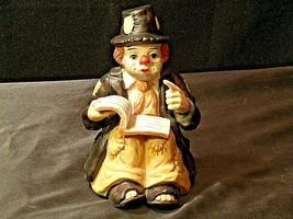Emmett Kelly Clown Music Box AA-191976 Vintage Sun Saint