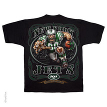 NEW YORK JETS  New with tags RUNNING BACK  T Shirt BLACK shirt NFL TEAM - €19,52 EUR+