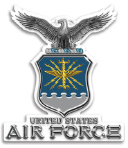 Us Airforce Tribute   3 M Window Decal...High Quality  Awesome - $10.99+