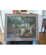 Diane Anderson FOREST PALETTE #563 of 975 Print Signed COA 1990 Gallery ... - $385.11