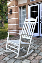 Shine Company Rhode Island Style Patio Deck Porch Rocker Chair 2 Colors - $146.95