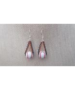Houston Astros MLB Inspired Ceramic Earrings Sterling Silver Ear Wires - $20.50