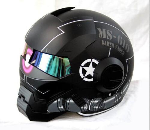 masei 610 gundam zaku matt black motorcycle helmet helmets
