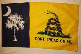 South Carolina Gadsden Flag 3' X 5' Indoor Outdoor Palmetto State Banner - $10.95
