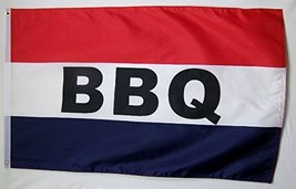 BBQ Flag 3' X 5' Indoor Outdoor (RWB) Barbecue Food Banner - $9.95