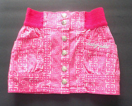 Baby Phat Toddler Girls Pink Snap Up the Front Skirt Size 2T, 3T and 4T NWT - $19.99