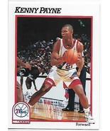 1991-92 Hoops #413 Kenny Payne NM-MT 76ers - $0.99