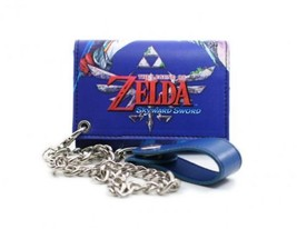 Zelda: Blue Key Art w/ Chain Wallet Brand NEW! - $19.99