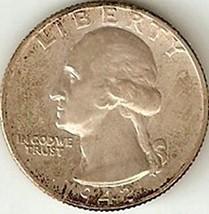 Washington Quarter 1942  AU #101 - $9.14